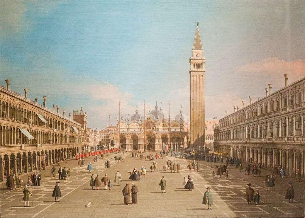 Canaletto Piazza di San Marco Venezia