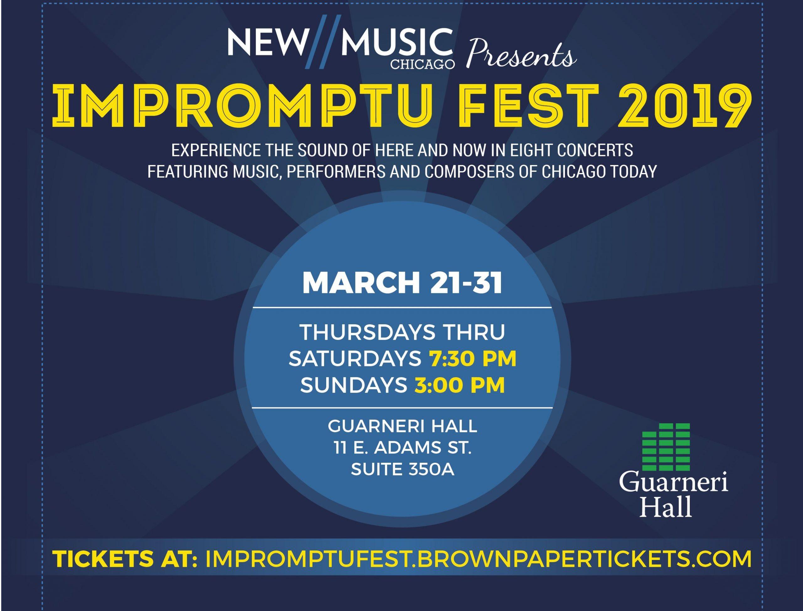 Impromptu Fest Flyer