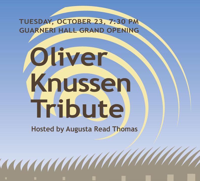 Oliver Knussen Tribute