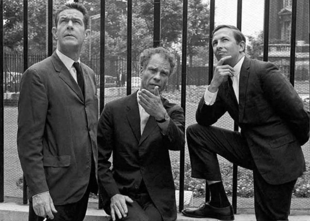 John Cage, Merce Cunningham with Robert Rauschenberg