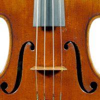 Lyall Stradivari Violin Waist