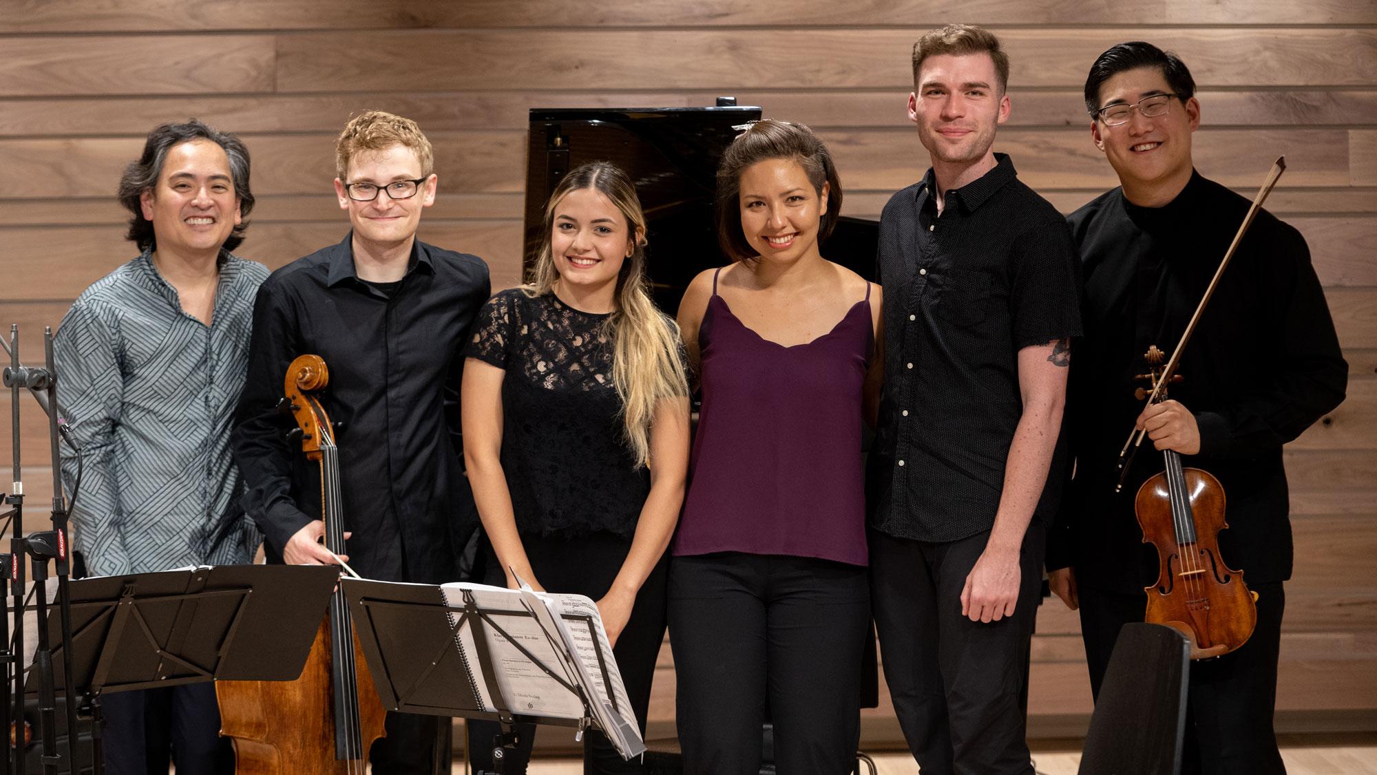 NEXUS Chamber Music group shot