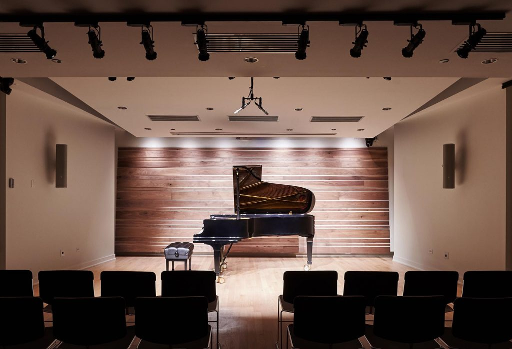 Guarneri Hall performance and recording facility