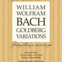 William Wolfram Goldberg Variations at Guarneri Hall