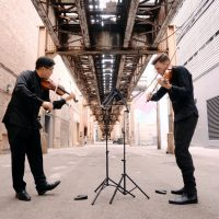 Brian Hong and Alexi Kenney violinists