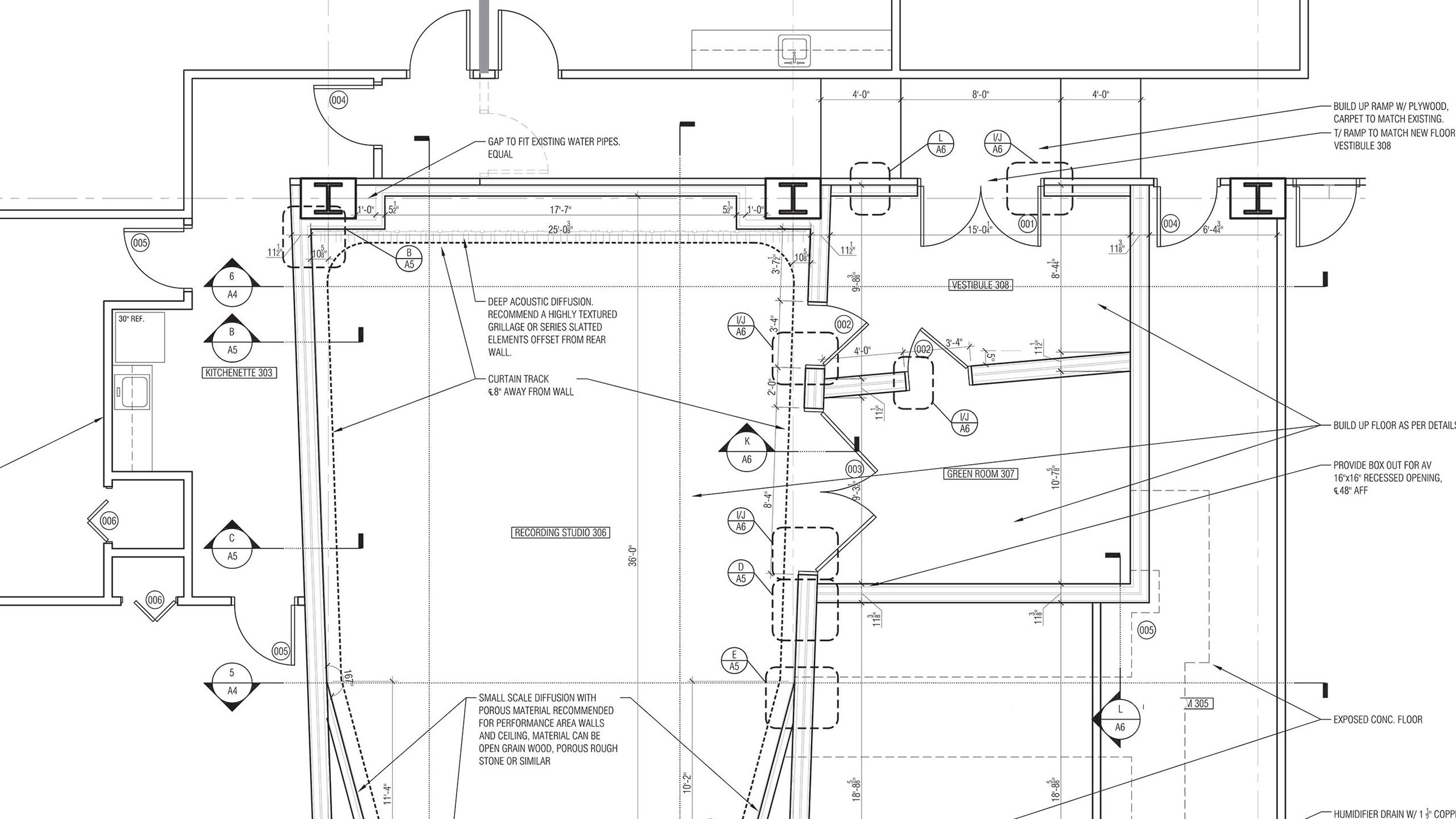 recording studio blueprint