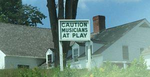 Iconic Marlboro Music sign