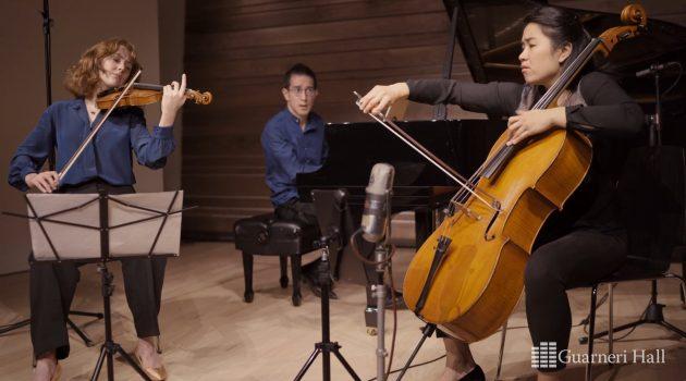 """Merz Trio: Berg """"Traumgekrönt"""""""