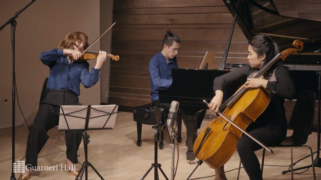 The Merz Trio in Guarneri Hall