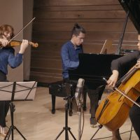The Merz Trio in Guarneri Hall