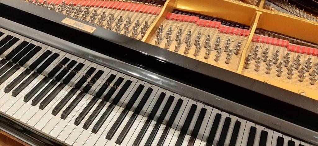 Steinway keyboard
